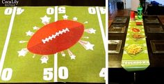 Football Field Table Runners!!