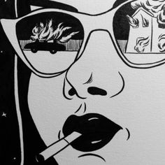 Image in pop art collection by Jenny Messina on We Heart It Kunst Inspo, Art Inspo, Comic Kunst, Comic Art, Art And Illustration, Dope Kunst, Comics Vintage, Vintage Pop Art, Vintage Drawing