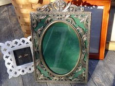 Metal Frame, Italy Frame, Masculine Picture Frame, 5 x 8 Frame, Baroque Photo Frame, Cast Brass Frame, Maxs Uniquities, Dude Find Man Cave by MaxsUniquities on Etsy