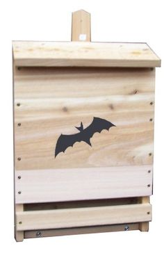 Bat House! Embellishment ideas to make it cute but this style is ...