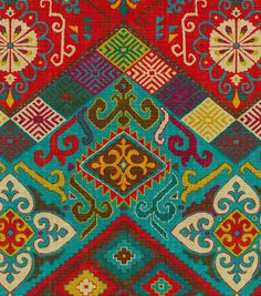 Waverly Upholstery Fabric Paisley Pizzazz Heritage Paisley Dress Out And Home Decor