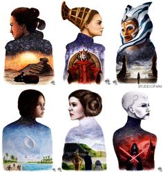 Bring the elegance and beauty of the galaxy to your very home with these one of a kind Star Wars paintings! Star Wars Fan Art, Star Wars Mädchen, Star Wars Girls, Star Wars Humor, Star Wars Ships, Star Wars Rebels, Happy Star Wars Day, Star Wars Painting, Starwars