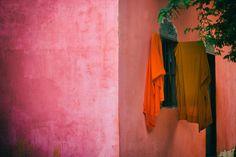 Big Pink & Orange Explosion.
