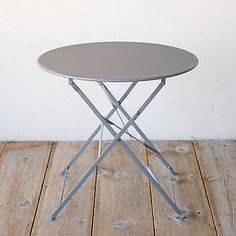 Painted Metal Bistro Table