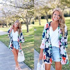 This floral kimono has us dreaming of a tropical vacation!  How perfect is #styleblogger @whatcourtwore?! We absolutely love this outfit!  . . . . . . . . . . . . . . . . . . . . #jessleaboutique #boutique #onlineboutique #texasboutique #instaboutique #instashopping #fblogger #fashionblogger #blogger #bloggerstyle #realoutfitgram #lookoftheday #lotd #lookbook #ootd #wiw #shopping #shopsmall #shopoholic #igshopping #igfashion #igshopping #whatiwore #musthave #ontrend #floralkimono #kimono…