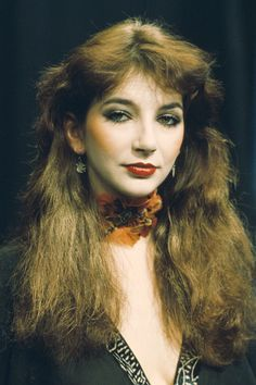 Picture of Kate Bush Women Of Rock, Stevie Nicks, Lookbook, Female Singers, Music Artists, Music Icon, Record Producer, Hair Styles, Pretty