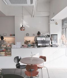 Avecel Cafe in South Korea. Simply and Clean.