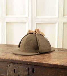 Deer Stalker (Sherlock) Tweed Hat from James Purdey & Sons Ltd., Audley House, London