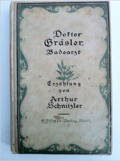 @AlittleLibrary: Gli sembrò di essersi miracolosamente sottratto a un'epoca oscura della sua vita. Arthur Schnitzler (Il dottor Gräsler medico termale, 1917)