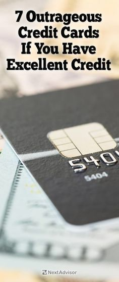 If you have great or excellent credit there are some outrageous credit card offers that you could qualify for. Check out the top offers for excellent credit at NextAdvisor today. #GreatBusinessCardMakers