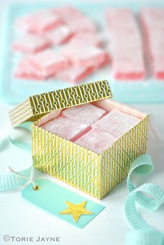 Turkish Delight packaged