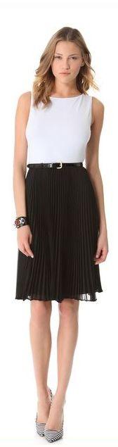 alice + olivia pleated skirt...