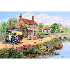 Penny Buns Jigsaw Puzzle from Jigsaw Puzzles Direct - Order today and Get Free Delivery