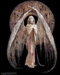Gotische Engel
