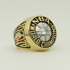 1978 Washington Bullets NBA World Championship Ring.Best gift from www.championshipringclub.com for  Bullets fans. Custom your own personalized championship ring now!