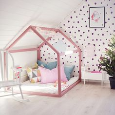 Children& room inspiration for girls style-prie-aime . Children& room inspiration for girls style-prie-aime Baby Bedroom, Girls Bedroom, Creative Kids Rooms, House Beds, Loft House, Little Girl Rooms, Kid Spaces, Kid Beds, Room Inspiration