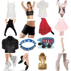 Even more dance costumes
