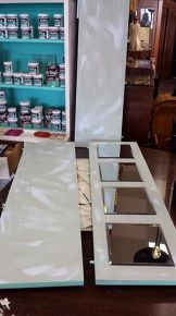 table leaf upcycle, painted furniture, repurposing upcycling, wall decor