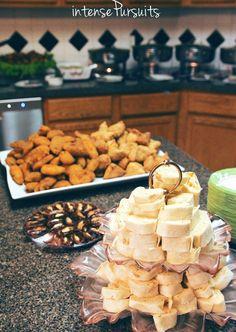 Appetizers/Snacks IntensePursuits : DIY: sailor-navy themed indoor/outdoor graduation party