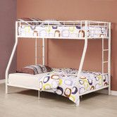 Found it at AllModern - Sunrise Twin over Full Bunk Bed with Built-In Ladder