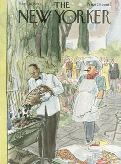 The New Yorker - Saturday, September 16, 1950 - Issue # 1335 - Vol. 26 - N° 30 - Cover by : Perry Barlow