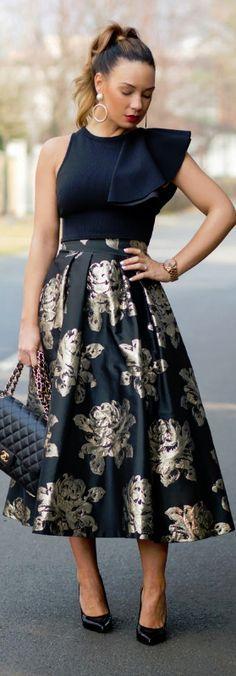 #Farbbberatung #Stilberatung #Farbenreich mit www.farben-reich.com Statement Skirt / Fashion By Cashmere In Style