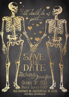 16 Subtly Spooky Ideas For A Killer Halloween Wedding october wedding ideas 16 Subtly Spooky Ideas For A Killer Halloween Wedding Halloween Wedding Invitations, Glitter Wedding Invitations, Engagement Invitations, Halloween Weddings, Halloween Wedding Dresses, Wedding Costumes, October Wedding, Fall Wedding, Dream Wedding