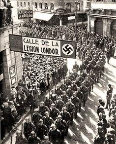 Búscame en el ciclo de la vida: 960. La Legión Condor en Vigo.
