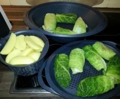 Cabbage rolls from NicoleK . A Thermomix recipe from the main course with meat. - Cabbage rolls from NicoleK . A Thermomix recipe from the main course with meat category at www. Vegan Vegetable Soup, Vegetable Recipes, Vegetarian Recipes, Healthy Recipes, Crock Pot Recipes, Cabbage Rolls Recipe, Homemade Burgers, Healthy Vegetables, Healthy Drinks