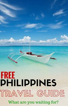 Travelling to the Philippines? You should! Here's all our free Philippines travel guides from our Philippines travel blog including best tips for visiting the Philippines with kids. What are you waiting for?