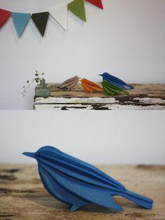 Wooden Birds by Lovi Oy