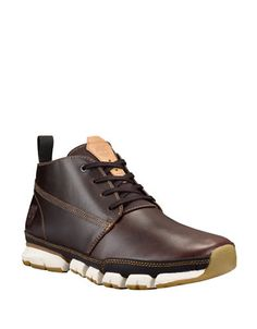 TIMBERLAND TIMBERLAND Wharf District Leather Chukka Boots. #timberland #shoes #boots