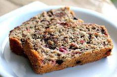 Dark Chocolate Raspberry Oatmeal Banana Bread! Mom we need to make this!!