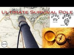 Survival is often overlooked when planning for a day on the trail. A hiking stick, however, is something many of us carry. Bushcraft Camping, Camping Survival, Hiking Staff, Pvc Projects, Wooden Walking Sticks, Creative Workshop, Walking Canes, Walk Out, Survival Tools