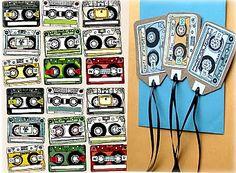 Etiquetas Cintas de Música | Descargables Gratis para Imprimir: Paper toys, diseño, Origami, tarjetas de Cumpleaños, Maquetas, Manualidades, decoraciones fiestas y bodas, dibujos para colorear, tutoriales. Printable Freebies, paper and crafts, diy