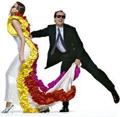 Bill King, modella Robyn Mackintosh, With Enrico Coveri - Archive Coveri Hayden Williams, Italian Fashion, Fashion History, Supermodels, Yves Saint Laurent, Harem Pants, Aurora Sleeping Beauty, Ralph Lauren, King