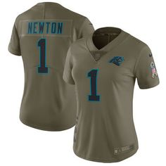 Cam Newton Carolina Panthers Nike Women s Salute to Service Limited Jersey  - Olive Nfl Jerseys For 38f07f03fe