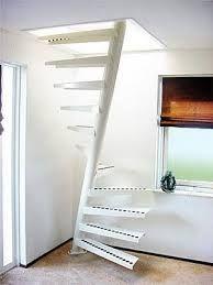Escaleras espacios reducidos pasos alternados escaleras - Escaleras para espacios pequenos ...
