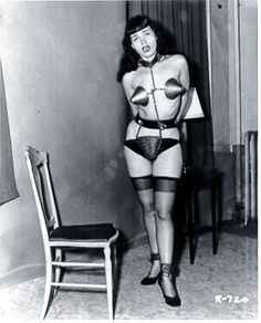 bondage page Vintage bettie