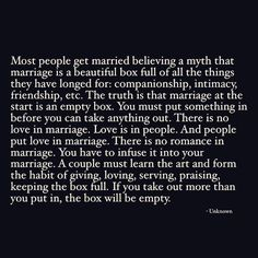 """2,433 Likes, 155 Comments - Vienna Pharaon (@mindfulmft) on Instagram: """"THE MARRIAGE/RELATIONSHIP BOX. """"If you take out more than you put in, the box will be empty.""""…"""""""