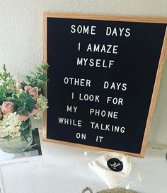 Totally in love with letter boards from The Letter Tribe. Most versatile home decor- letter board for inspirational quotes and motivational messages. Word Board, Quote Board, Message Board, Felt Letter Board, Felt Letters, Felt Boards, Quote Adventure, Quotes To Live By, Me Quotes