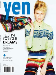 Yen Magazine.  www.byronturnbullblog.com  www.reloadagency.com