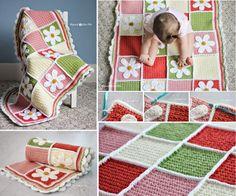 Aquí armamos un resumen patrones manta de ganchillo gratis para los bebés (y toda la familia ) que son populares en el círculo de crochet DIY . 40+ Free Pa