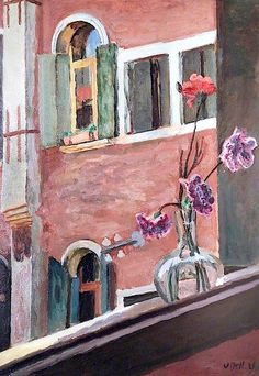 Vanessa Bell, A Venetian Window, 1926