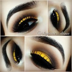Yellow! Love this pop of color!