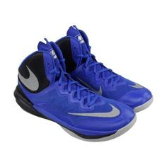 Nike Men's Prime Hype Df Ii Game Royal/Reflect Silver High-Top Basketball  Shoe - 10.5M