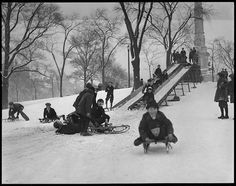 Let's go sledding.We loved to have a great day of fun in the snow!