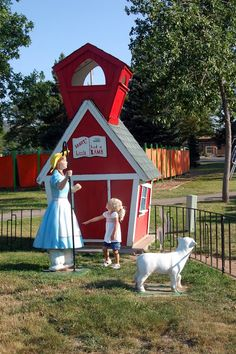 Storybook Island in Rapid City South Dakota is a family favorite place to go. Kids will love as stories come to life in this free park.
