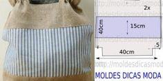 MOLDE DE BOLSA  -40