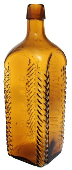 BAKER'S ORANGE GROVE BITTERS. Applied top. Here's a popular bitters with the roped corners,   - 2.jpg